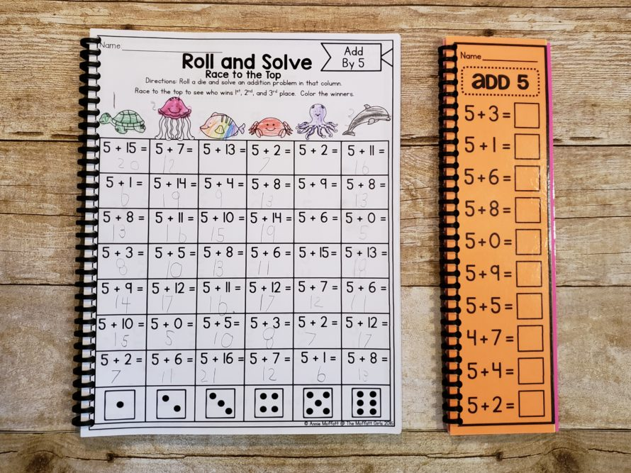 picture regarding Math Fact Fluency Games Printable named Studying Math Info - The Waldock Route