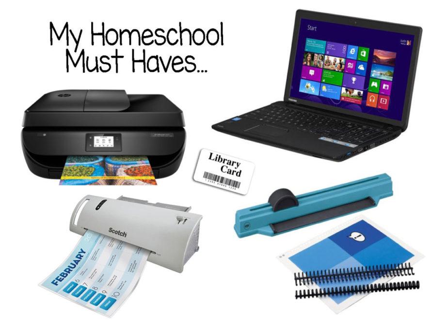My 5 Homeschool Must Haves - The Waldock Way
